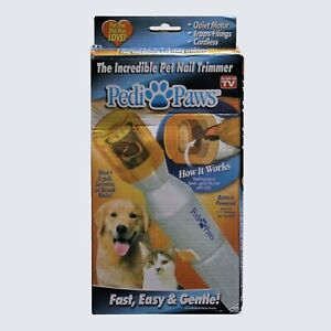 PediPaws Pet Nail Trimmer Quiet and Safe for Cats and Dogs