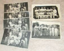 Social History Photographs: Grass Roots Cricket In Britain In 1933.