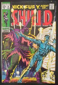 NICK FURY, AGENTS of SHIELD #9 (1969 MARVEL Comics) ~ FN/VF Book