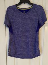 Great Looking Women's Short Sleeve Sport Top By Danskin Size Large
