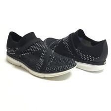 Merrell Zoe Sojourn Women 10 41 E Mesh Q2 Sneaker Shoes Black White Slipon Vegan