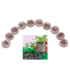 10pcs Peat Pellets Seed Starter Seedling 30mm Condense Soil Block Nursery