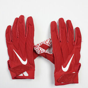 Nike Alpha Gloves - Receiver Men's Red/White Used