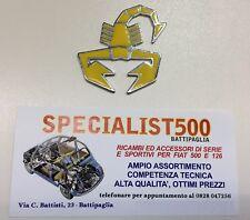 FIAT 500 F.L-R SCORPIONCINO SMALTATO ABARTH GIALLO