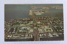Printed Postcard - Florida Sarasota St. Armands Key Aerial View , Unposted