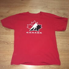 Team Canada National Ice Hockey Olympics Team T Shirt Mens Large