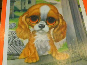 Vintage Big Eye Gig PUPPY JIGSAW PUZZLE PORKCHOP 500 Pieces Dog COMPLETE
