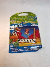 Game Travel WILD WEST HANGMAN Magnetic Portable Zip Closure