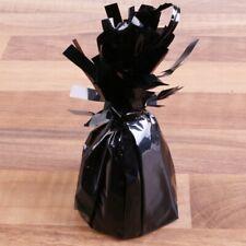5x BLACK BALLOON WEIGHTS Foil Fountain Floor Birthday Celebration Present Gift