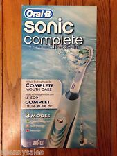 ORAL-B Sonic Complete Electric Toothbrush Brush 3 Mode BRAUN S18 513 3 BRAND NEW