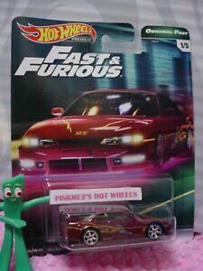 NISSAN Silvia 240SX (S14) #1/5☆magenta;☆2019 Hot Wheels PREMIUM B, FAST&FURIOUS