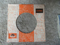sleeve only POLYDOR  ORAnge   45 record company sleeve only 45