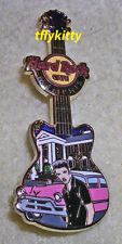 Hard Rock Cafe MEMPHIS ELVIS GRACELAND GUITAR & PINK CADILLAC PIN 2012