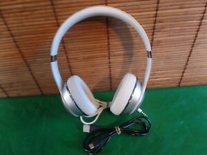 Beats by Dr. Dre Solo3 On-Ear Wireless Headphones - Satin Silver usb & jack cord