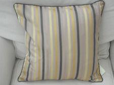 Mocha Striped Multi-coloured Evans Lichfield Cushion Cover