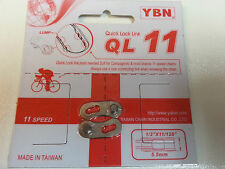 YBN 11 Speed Chain Quick Link Joining Link FITS SHIMANO CAMOPAGNOLO SRAM