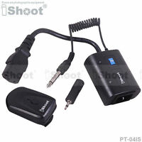 Wireless Radio Flash Trigger f 3.5/6.35mm SYNC JACK Studio Flash Light/Monolight