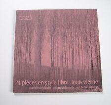 """Louis VIERNE """"24 pièces en style libre"""" (Vinyle 33t / LP)"""
