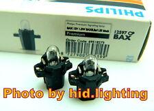 Genuine Philips 12V 1.2W Black Dash Instrument light Cluster Bulb Halogen 12597