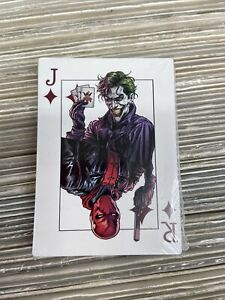 Batman: Three Jokers #3 (2020) Playing Card Factory Sealed Deck – 25 Cards!!
