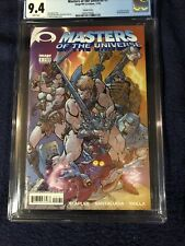 11/02 Masters of the Universe  # 1  CGC 9.4 CAMPBELL VARIAN Wrap Around Cover