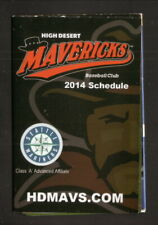 High Desert Mavericks--2014 Pocket Schedule--AlaskaUSA FCU--Mariners Affiliate