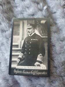 Admiral Sir Nowell Salmon VC - Ogden's Guinea Gold Cigarette Card