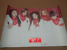 4MINUTE -  ACT. 7  [OFFICIAL] POSTER K-POP *NEW*