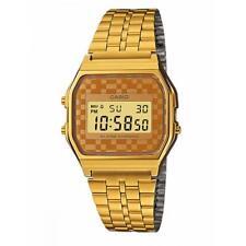 Reloj Unisex CASIO A-159WGEA-9A Acero Oro Gold Clásico Vintage Coloreado
