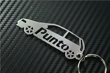 Fiat PUNTO MK2 CAR keyring keychain Schlüsselring porte-clés JTD EL SPORTING 16V