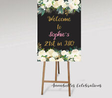 Printable ISO Birthday Print Personalised Isolation 16 18th 21st 30th 40th 50th
