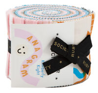 "Ruby Star Society Anagram Junior Jelly Roll 2.5"" Fabric Strips Moda, J05"