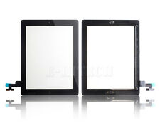 for iPad 2 Black Touch Screen Digitizer Glass With Home Button A1395 A1396 A1397