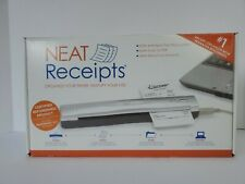 New Never Used Ope Box Neat Receipts Portable Scanner SCSA4601EU FREE SHIPPING