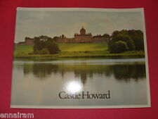 Castle Howard Yorkshire 1974 UK history / guide book
