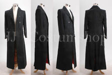 OZ Stock 10th Who Doctor Dr. Brown Long Trench Coat Suit S-XL Black or Brown