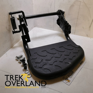 Land Rover Defender Rear Door Folding Step with Mud Tread Rubber Top - STC7632MT