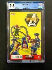 Mighty Avengers #1 (2013) CGC 9.6! ASM 12 Homage Lego Cover! Marvel Comics!