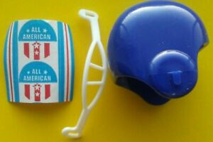 1970 ALL AMERICAN NCAA NFL Vintage mini gumball football helmet college Decals 1