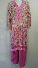 2tlg Bollywood Tunika  Salwar Kameez Kleid Indisch Fasching Karneval Kostüm