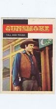Topps 1958 Western TV Card #15 Gunsmoke, Tall and Tough , non-sports card