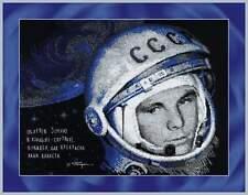 "Counted Cross Stitch Kit RIOLIS 1961 - ""Yuri Gagarin"""