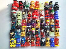 10Pcs Random Ooshies Pencil Toppers DC Comics Marvel Heroes Figure Toy 1.5''