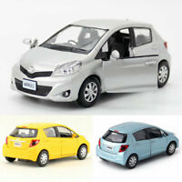 1:36 Scale Toyota Yaris Model Car Metal Diecast Gift Toy Vehicle Pull Back Kids
