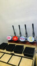 More details for home bar 4 tap beer pump / garden bar / man cave / beer font / beer tap
