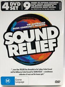 Australian Sound Relief - 4 DVD Box Set - AusPost with Tracking