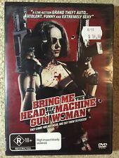 Bring Me The Head Of The Machine Gun Woman - Brand New Sealed Region 4