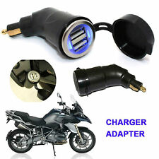 Motorcycle Dual USB Port Charger Socket Adapter for BMW R1200GS R1200RT F800