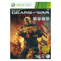 Gears of War Judgment XBOX 360 2013 English Chinese Factory Sealed