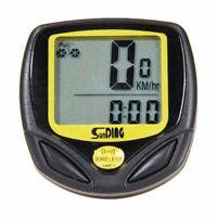 Wireless Bike Bicycle Cycle Lcd Computer Speedometer Odometer Waterproof Best:)